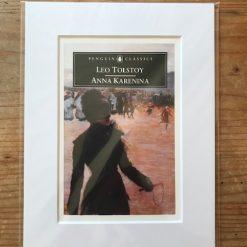 Penguin Classics Book Cover Mounted Print: Anna Karenina - Leo Tolstoy
