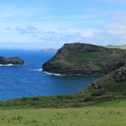 Print View on a walk between Boscastle and Tintagel