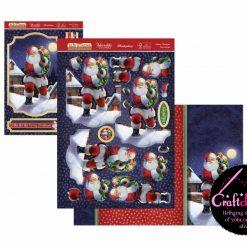 Hunkydory - The Joy Of Christmas - Deco-Large Collection - Father Christmas Deco-Large Set