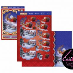 Hunkydory - The Joy Of Christmas - Deco-Large Collection - Santa's Here! Deco-Large Set