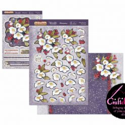 Hunkydory - The Joy Of Christmas - Deco-Large Collection - Winter Blossoms Deco-Large Set