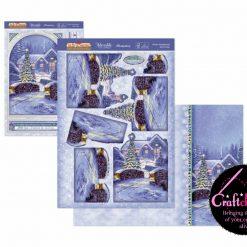 Hunkydory - The Joy Of Christmas - Deco-Large Collection - Winter Wonderland Deco-Large Set