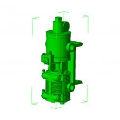 OO, Westinghouse pump - L150, Prairie