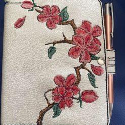 Notebook/Journal Cover - Blossom Design (Inc Notebook & Pen)