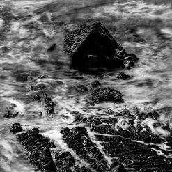 12x16 Print of the Sea Stack at Sandymouth Bay, Bude, Cornwall, UK.