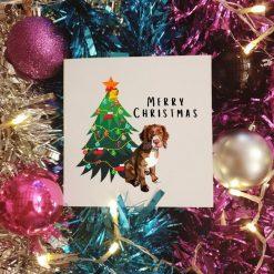 Beagle Dog Christmas Card | Illustrated Cards | Dog Themed Gifts | Cute Dog Design
