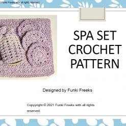 Luxury Spa Set 3-in-1 Crochet PDF Pattern