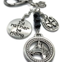 I'd Rather be Riding Keyring