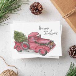 Unicorn Christmas Card