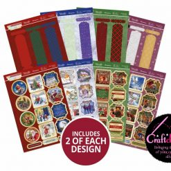 Hunkydory - Festive Wonderful Waterfalls - Classically Christmas Collection