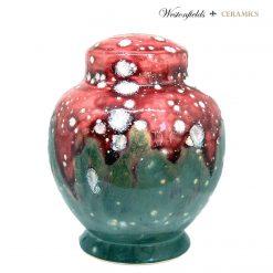 Ceramic Save and Smash Money Savings Pot Box Bank Volcano Design