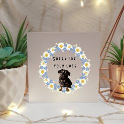Tabby Cat Sympathy Card | Condolence Card | Illustrated Cards | Cat Themed Gift