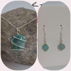 Amazonite Jewellery Set