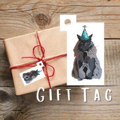 Spaniel Dog Gift Tag | Dog Illustration | Gift Wrapping | Dog Themed Gift | Cute Dog Design