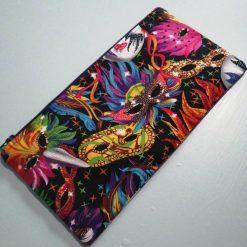 Carnival mask cotton pencil case