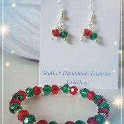 Crystal Bracelet and Earrings Gift set for Kids