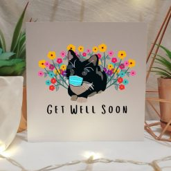 Tabby Cat Get Well Soon Card | Illustrated Cards | Cute Cat Design | Get Better Soon