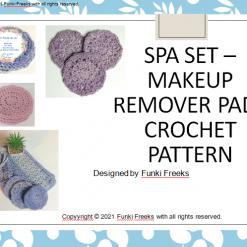 Makeup Remover Pads/Srcubbies Crochet PDF Pattern