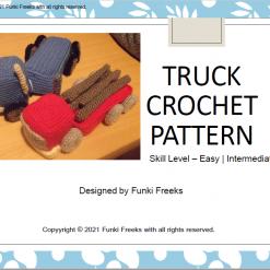 Toy Truck Crochet PDF Pattern Make a Toy Truck