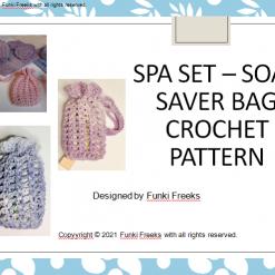 Soap Saver Bag Crochet PDF Pattern