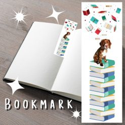 Maine Coon Cat Bookmark   Book Accessories   Cat Illustration   Cat Themed Gift