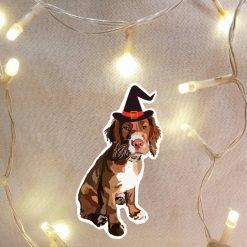 HALLOWEEN Tuxedo Cat Sticker | Cat Illustration | Cat Themed Gift | Fun Stickers